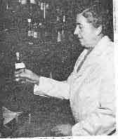 Agatha in the dispensary